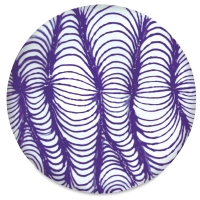 Example of Designer Liner, Purple