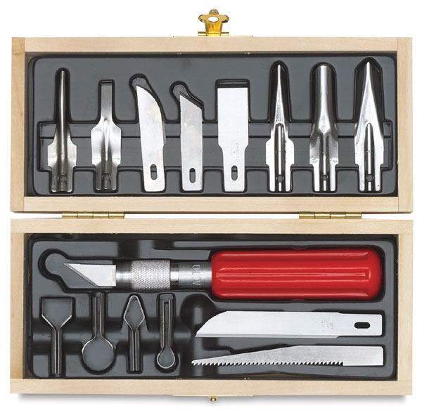 X-Acto Deluxe Wood Carving Set