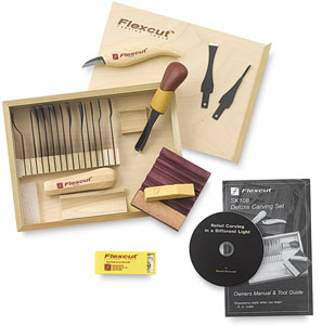 Deluxe Starter Carving Set, 21 pieces