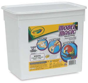 Model Magic, White, 2 lb Bucket