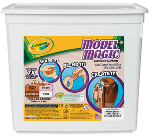 Model Magic, Assorted Naturals 2 lb Bucket