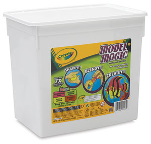 Model Magic, Assorted Neon 2 lb Bucket