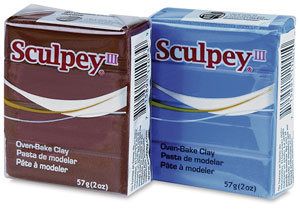 Sculpey III, 2 oz Blocks