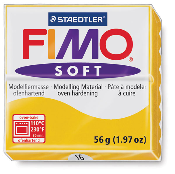 Fimo Soft Polymer Clay, 2 oz