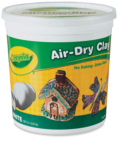Air-Dry Clay, 5 lb Bucket