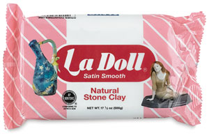 La Doll Satin Smooth Air-Dry Clay