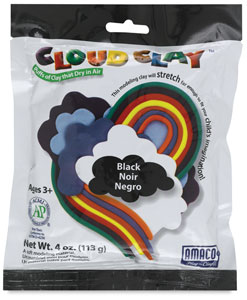 Cloud Clay, Black
