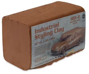 Amaco HBX-2 Industrial Styling Clay