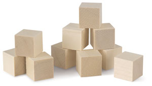 Basswood Blocks, 10 Pieces