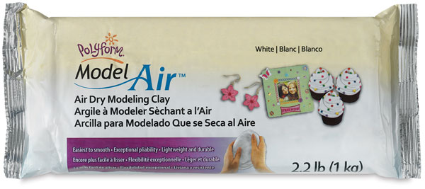 Model Air Clay, White