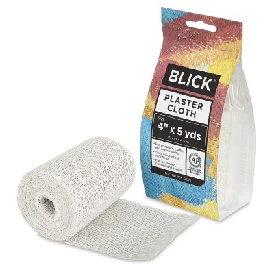 "Plaster Cloth, Roll , 4"" x 5 yds"