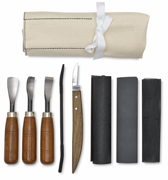Soapstone Carving Set