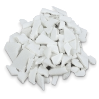 Glass Mosaic Chunks, White