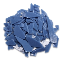 Glass Mosaic Chunks, Cornflower