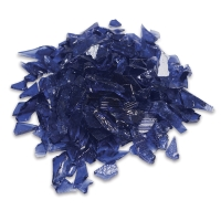 Glass Mosaic Chunks, Periwinkle