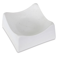 Glass Slump Mold, Square, Rounded Sides