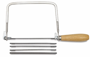 "7"" Coping Saw, with 4 Assorted Blades"