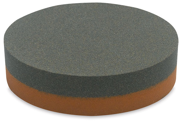 Large Double-Sided India Sharpening Stone<br>Medium/Fine Grit