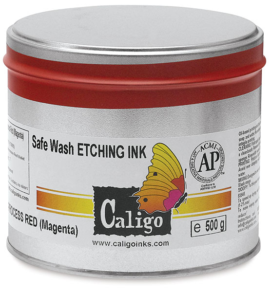 Safe Wash Etching Ink, 500 g Can