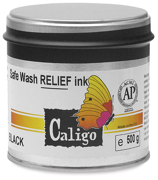 Safe Wash Relief Ink, 500 g Can
