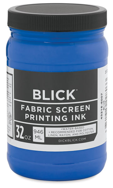 Waterbased Acrylic Fabric Screen Printing Ink
