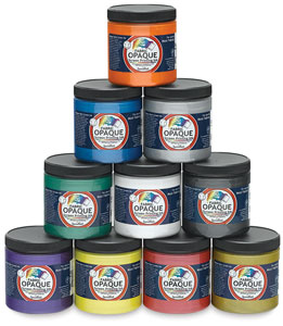 Opaque Iridescent Screen Printing Ink