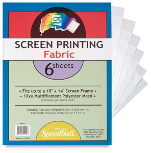Screen Fabric, 12xx Mesh, Pkg of 6 Sheets