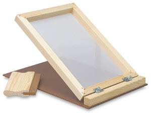 """Screen Printing Unit, with 7"""" Squeegee"""