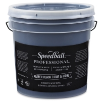 Speedball Professional Poster Black Screenprinting Ink