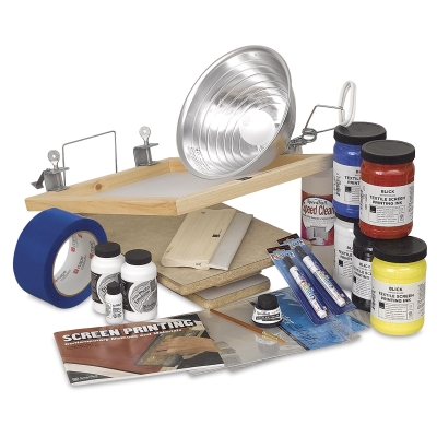 Blick's Complete Photo/Fabric Screen Printing Kit