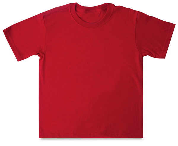 First Quality 50/50 T-Shirt, Red