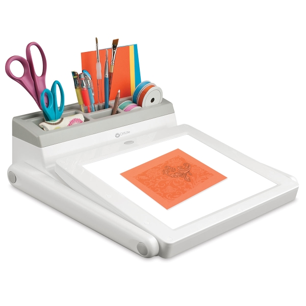 LED Light Box and Task Lamp Station</br>(Supplies not included)