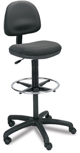 Precision Drafting Stool, Fabric