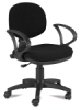 Desk Chair, Black