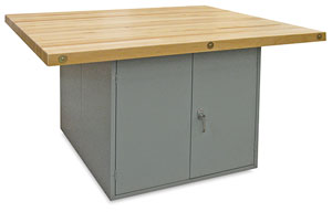 4-Door Workbench without Vises