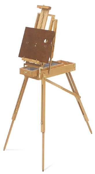 French Easel, Half Box