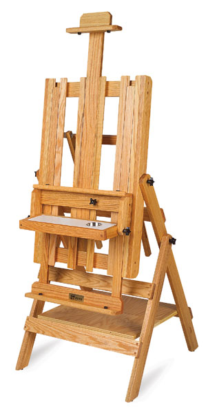 Art easel plans free recording studio table plans woodcrafters easel that is ideal for painting or display the design is very simple i plan to copy the dimensions and make my own using real wood and hardware that solutioingenieria Gallery