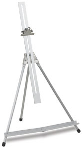 Folding Easel with Adjustable Extension Bar
