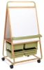 Double-Sided Bamboo Easel