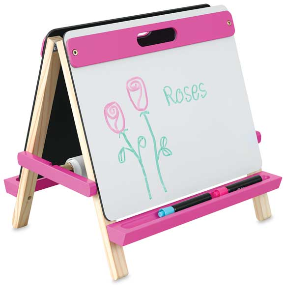 Children's Tabletop Easel, Pink