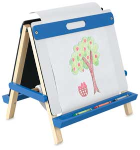 Children's Tabletop Easel, Blue