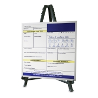 Display Easel (Show at table top height)
