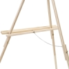 Tripod Floor Easel, Natural Finish