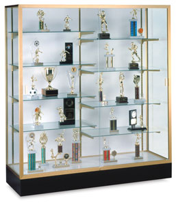 Colossus Series Display Case, White Back