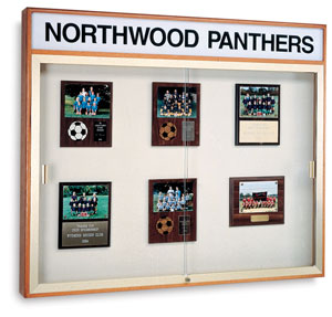 Plaque Display Board