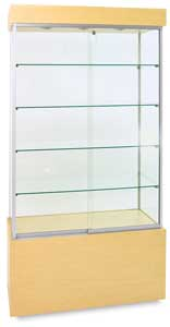 Economy Display Cases, Maple
