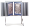 Multiplex Swinging Panel Display