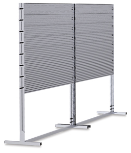 Market Stand with 8 Panels