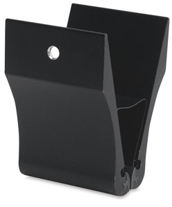 Testrite Visual Clamps, Black Wall Mount