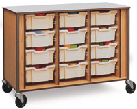 Fleetwood Small Tote Tray Cabinets